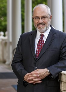 Dr. David P. Haney, President of Centenary University