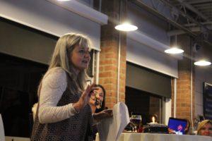 Lisa Baldwin at TedWomen Event