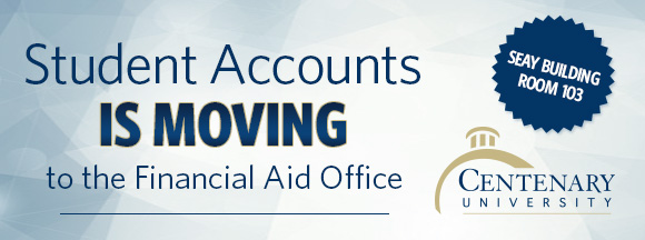 Student Accounts is Moving to the Financial Aid Office